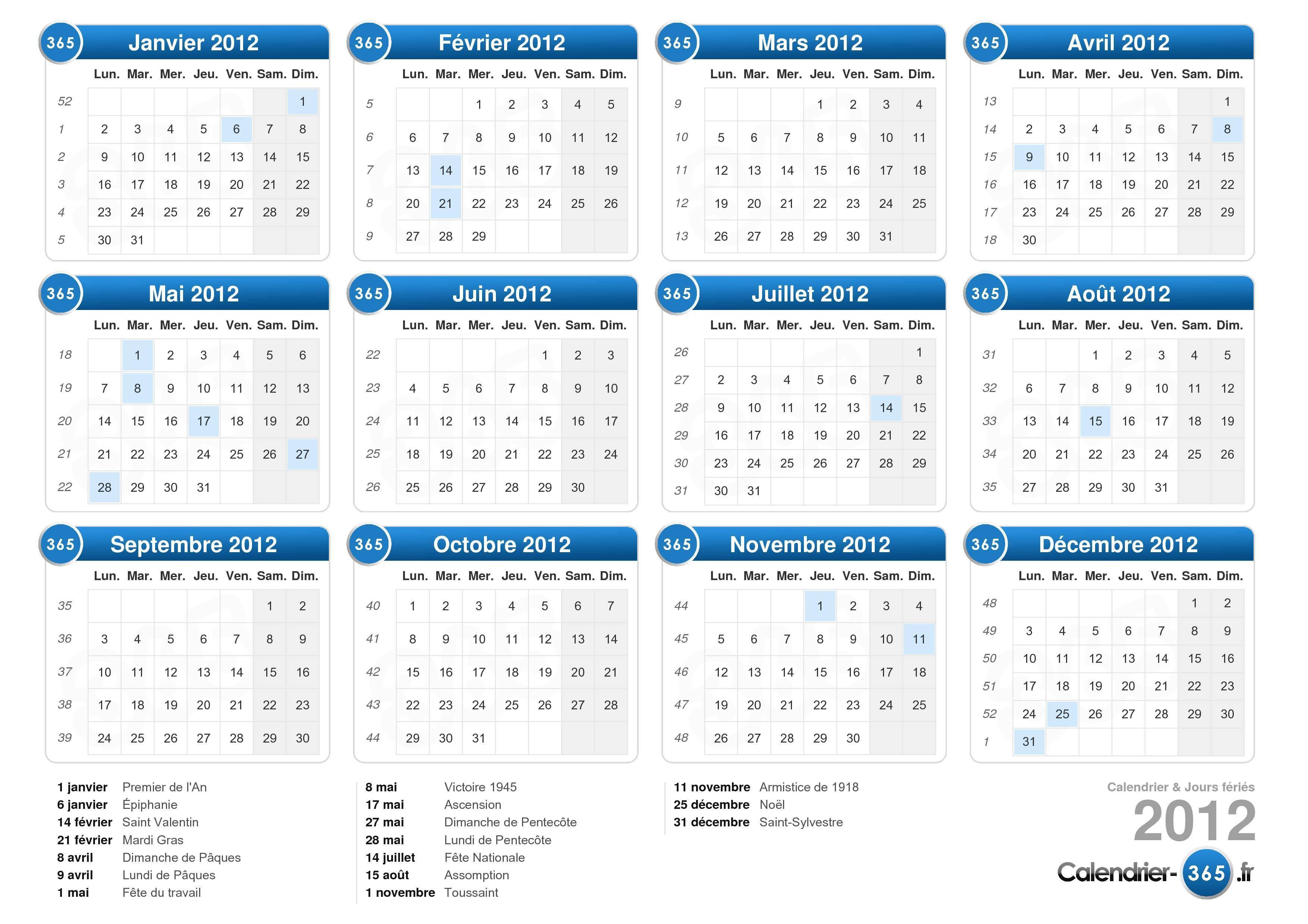 Calendrier annuel Tous les fournisseurs de Calendrier annuel sont ...